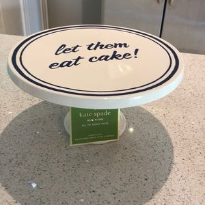 Let them eat cake KATE SPADE cake stand